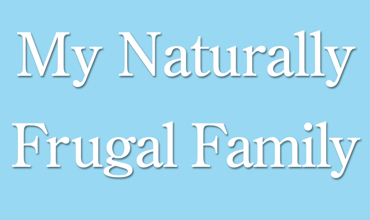 My Naturally Frugal Family Blog - September 2011