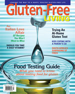 Gluten-Free Living Magazine - Fall 2009