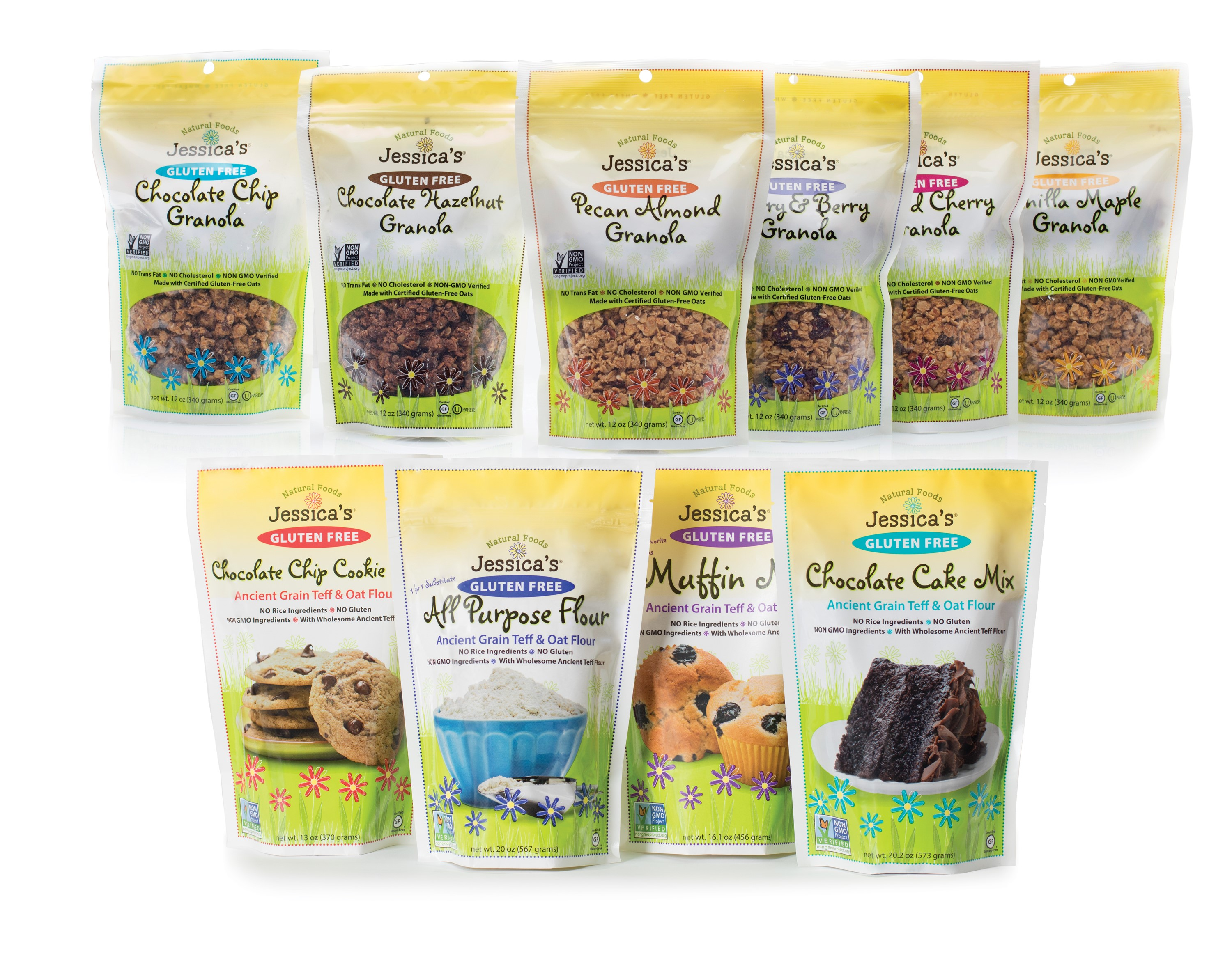 Mix & Match - Pick Any Combination of Granola/Flour/Mixes